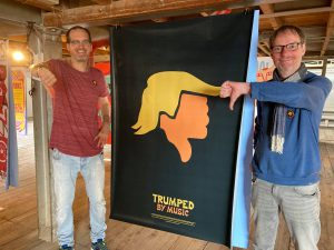 Trumped by Music exhibiton
