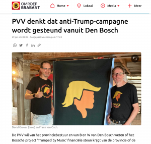 Omroep Brabant - Trumped by Music